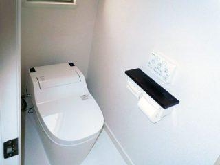 トイレをアラウーノに交換