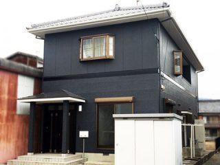和風住宅の外観・外装を洋風でスタイリッシュな雰囲気に