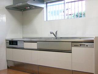 大収納のキッチンへグレードアップ