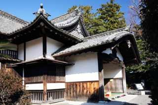 お寺の玄関