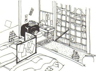 江戸時代の裏長屋の生活