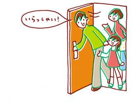 日本のドア
